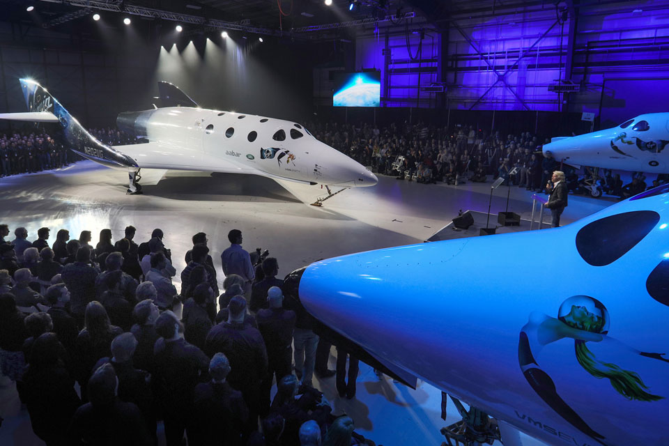 Gilo Industries CEO Attends Virgin SpaceShipTwo Rollout
