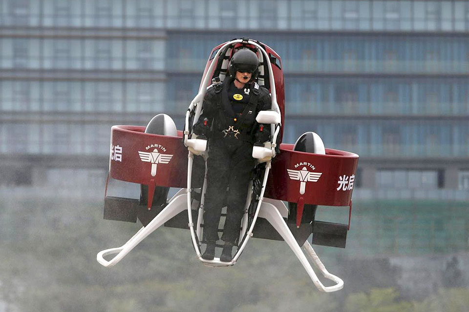 Rotron Secures Martin Jetpack Engine Agreement