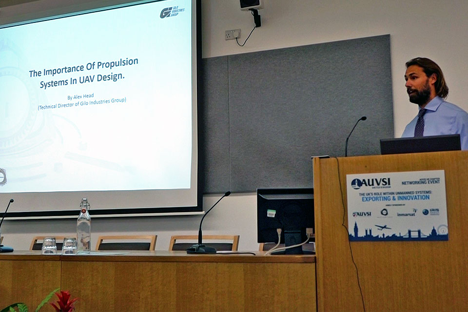 Rotron Technical Director Speaks at AUVSI UK Symposium