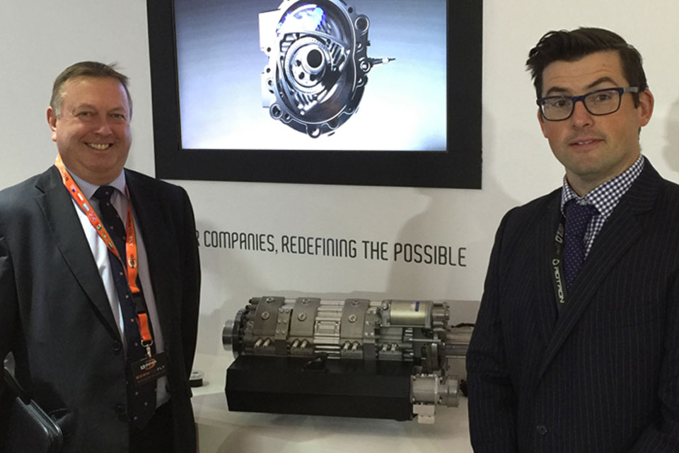Gilo Industries Attend Farnborough International Airshow